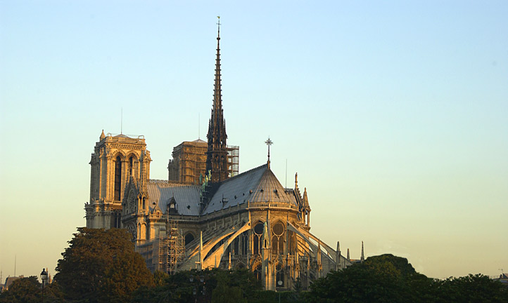 Picture of Notre Dame here